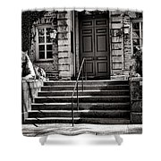 Princeton University Nassau Hall Tigers Shower Curtain