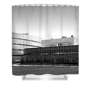Princeton University Neuroscience Institute And Peretsman Scully Shower Curtain
