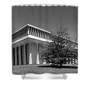 Princeton University Robertson Hall Shower Curtain