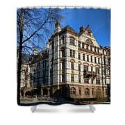 Princeton University Witherspoon Hall  Shower Curtain