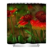 pring Blooms Shower Curtain