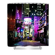 Printers Alley 1 Shower Curtain