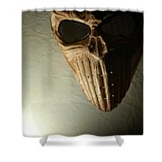 Mask One Shower Curtain
