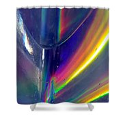 Prism Waves I Shower Curtain