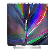 Prism Waves II Shower Curtain