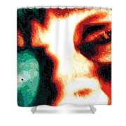 Prismeye, No. 2 Shower Curtain