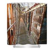 Prison Cells Shower Curtain