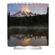 Pristine Reflections Shower Curtain