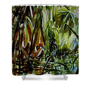 Pristine Waters Shower Curtain