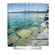 Pristine Waters Shower Curtain