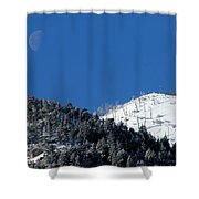 Pristine Winter Morning Shower Curtain