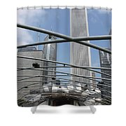 Pritzker Pavilion Shower Curtain