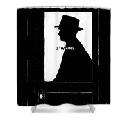 Private Eye  Shower Curtain