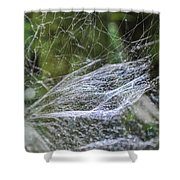 Private Galaxy Shower Curtain