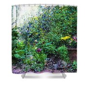 Private Garden Shower Curtain