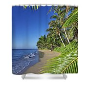 Private Molokai Beach Shower Curtain