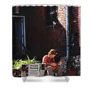Private Parking Shower Curtain