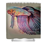 Prize Betta Shower Curtain