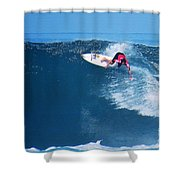 Pro Surfer Alex Ribeiro-6 Shower Curtain