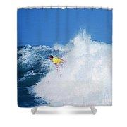 Pro Surfer Chris Ward - 2 Shower Curtain