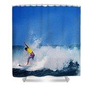 Pro Surfer Chris Ward Shower Curtain
