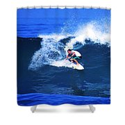 Pro Surfer Gabe King - 3 Shower Curtain