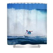 Pro Surfer Gabe King -6 Shower Curtain