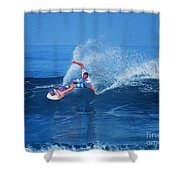Pro Surfer Jamie O Brien #1 Shower Curtain