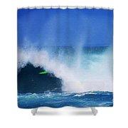 Pro Surfer Keanu Asing-1 Shower Curtain