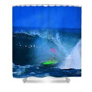 Pro Surfer Keanu Asing-3 Shower Curtain