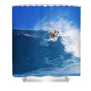 Pro Surfer Nathan Hedge-1 Shower Curtain