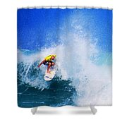 Pro Surfer-nathan Hedge-4 Shower Curtain
