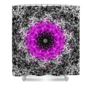 Probability Flower Shower Curtain