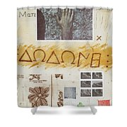 Procenemi Dodona, Oracle Of Zeus Shower Curtain