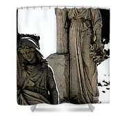 Procession Of Faith Shower Curtain