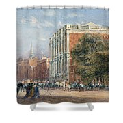 procession with Queen Victoria Shower Curtain