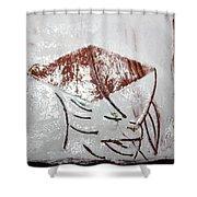 Prof - Tile Shower Curtain