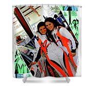 Professional Rally Racers, Parque Xtremo II Shower Curtain