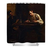 Professionals At Rehearsal 1883 Shower Curtain