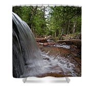 Profile Of The Falls Shower Curtain