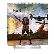 Project Alice Shower Curtain