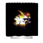 Projection - Body 3 Shower Curtain
