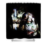 Projection - Body 2 Shower Curtain