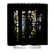 Projection - City 1 Shower Curtain