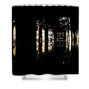 Projection - City 3 Shower Curtain