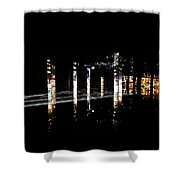 Projection - City 5 Shower Curtain