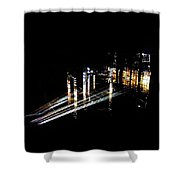 Projection - City 6 Shower Curtain