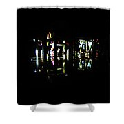 Projection - City 7 Shower Curtain