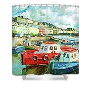 Promenade At Cobh Shower Curtain
