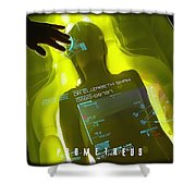 Prometheus Shower Curtain